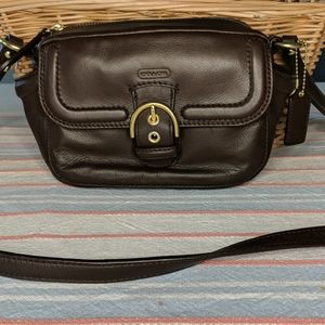 Coach Crossbody Campbell Leather New without Tags